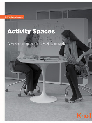 Activity Spaces: A Variety Of Spaces For A Variety Of Work