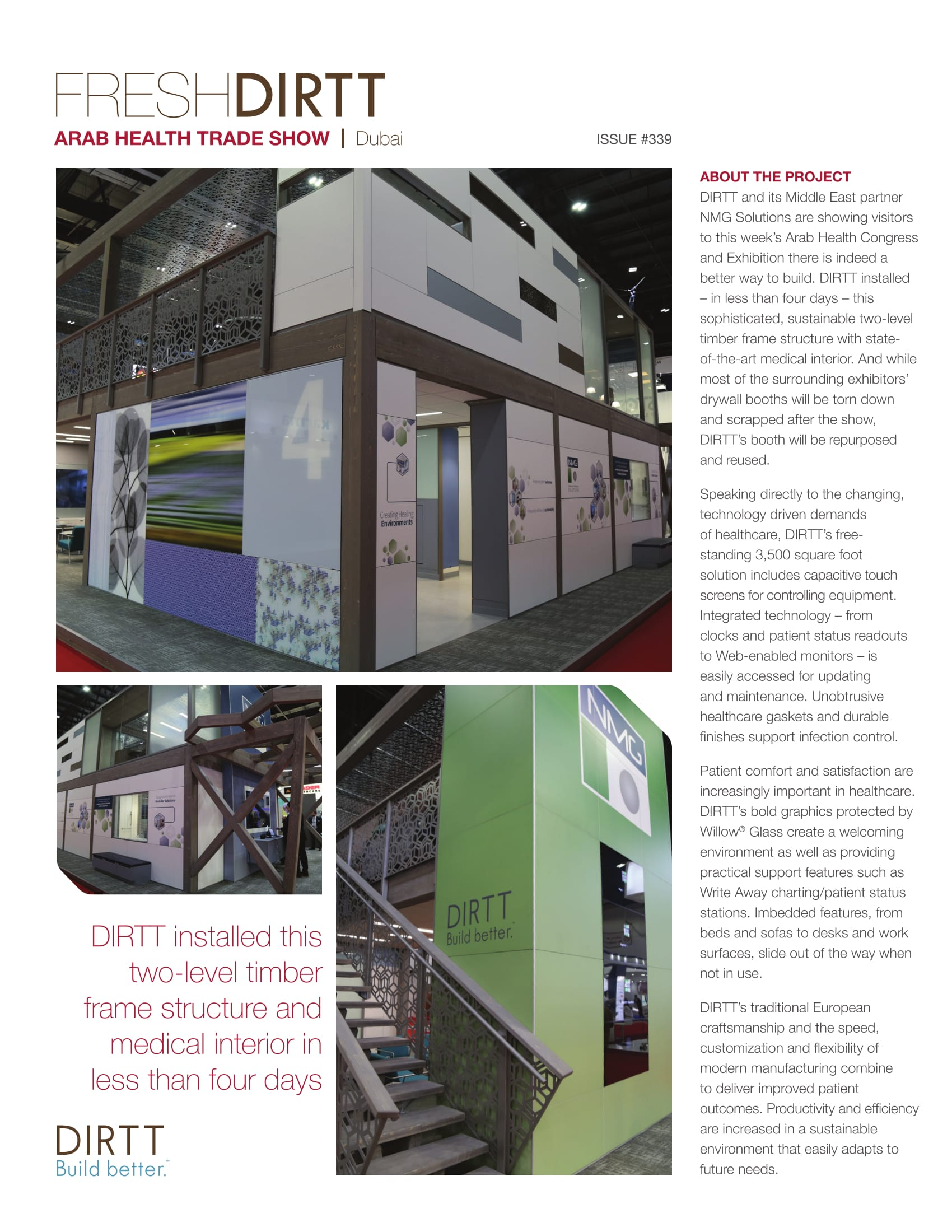 Arab Health Trade Show Issue 339
