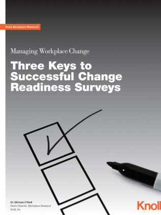 Managing Workplace Change - Three Keys to Successful Change Readiness Surveys